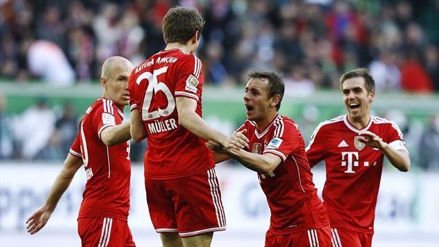 Футбол суперкубок германии вольфсбург бавария