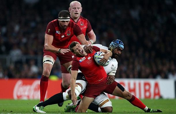 England v Fiji - Group A: Rugby World Cup 2015
