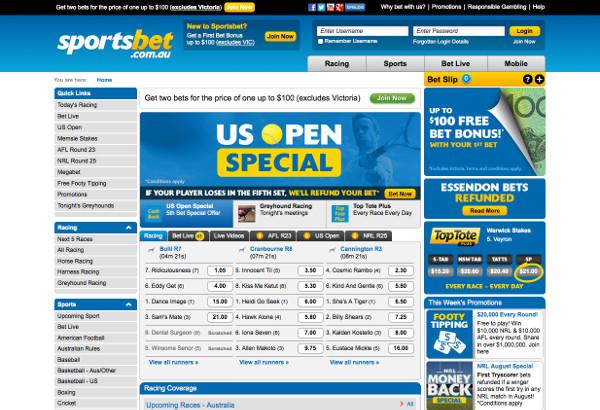 Sportsbet-Australia-website
